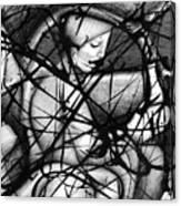 Asleep At The Wheel Canvas Print