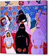 Asma Canvas Print