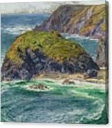 Asparagus Island Canvas Print