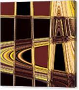 Aspen Grove Abstract Canvas Print