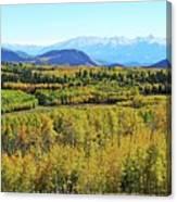 Aspen Valley Canvas Print