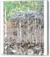 Aspendoodle Canvas Print