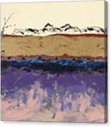 Aspens In Winter Canvas Print