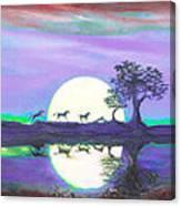 Assateague Run 6 Canvas Print