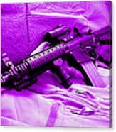 Assault Rifle Canvas Print