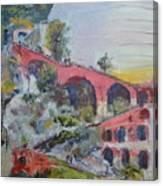 Assenseur Du Chateau Canvas Print