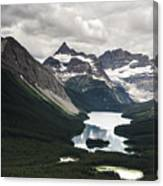 Assiniboine Vista Canvas Print