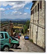 Assisi Italy I Canvas Print