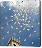 Assisi Sky Canvas Print