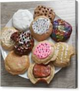 Assorted Cookies Canvas Print