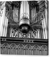 Assumpton Organ Canvas Print