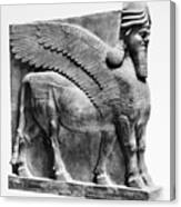 Assyria: Bull Scultpure Canvas Print