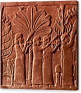 Assyrian Queen, 645 B.c Canvas Print