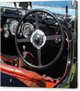 Aston Martin Dashboard Canvas Print