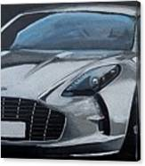 Aston Martin One-77 Canvas Print