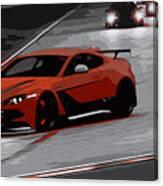 Aston Martin Vantage Gt12 Canvas Print