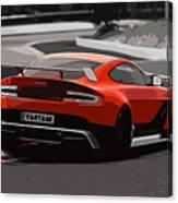 Aston Martin Vantage Gt12 - Trackday Canvas Print