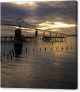 Astoria-megler Bridge 2 Canvas Print