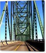 Astoria-megler Bridge Canvas Print