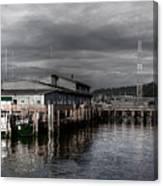 Astoria Waterfront 2 Canvas Print