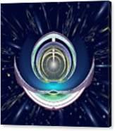Astral Speedway Canvas Print