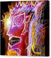 Astroface Firehead Canvas Print