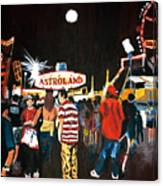Astroland Canvas Print