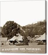 At Atascadero War Manuevers Circa 1915 Canvas Print