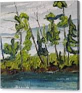 At Burbue Lake No 2 Canvas Print