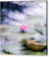 At Claude Monet's Water Garden 12 Canvas Print