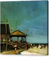At Far Rockaway 1902 Canvas Print