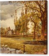 At Hale Lancanshire Canvas Print