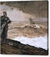 At High Sea Canvas Print