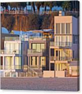 At Home On Santa Monica Beach Canvas Print