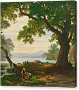 At Lake Sempach Canvas Print