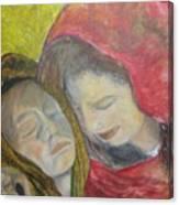 At Last They Sleep Canvas Print