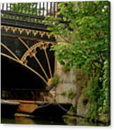 At Magdalene Bridge. Canvas Print