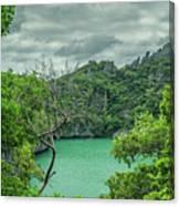 At Moo Koh Angthong Marine Park Canvas Print