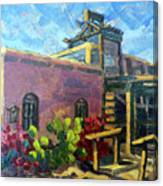 At Old Tucson Canvas Print
