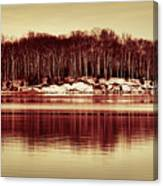 At Quiet Waters Canvas Print