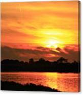At Sunset  Canvas Print