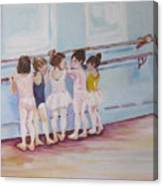 At The Barre Canvas Print