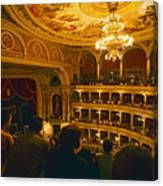 At The Budapest Opera House Canvas Print