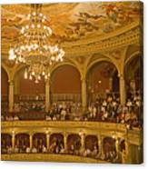At The Budapest Opera Canvas Print