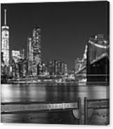 At The Edge Of Brooklyn Canvas Print