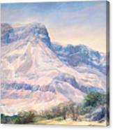 At The Foot Of Mountains Canvas Print
