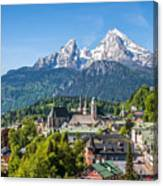 At The Foot Of The Watzmann Canvas Print