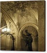 At The Opera Canvas Print
