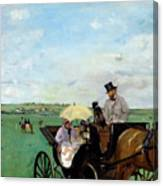 At The Races In The Countryside,  Canvas Print
