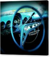 At The Wheel Canvas Print